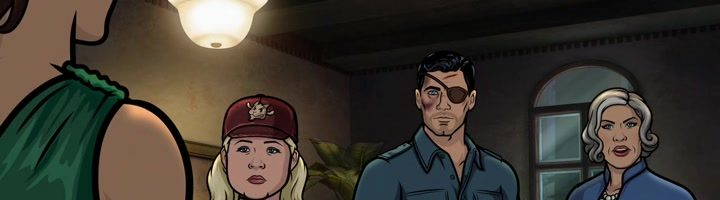 "Archer S09E03 ""Different Modes of Preparing Fruit"""