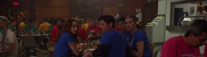 """Knihovníci / The Librarians S04E07 """"And the Disenchanted Forest"""""""