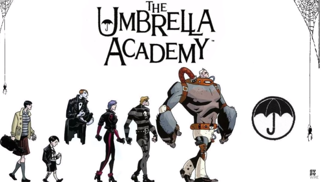 seriál The-Umbrella-Academy